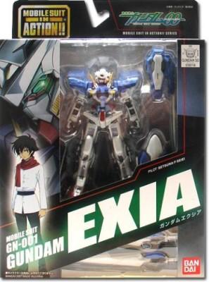 Bandai MS in Action - Exia Gundam Figure (4.5