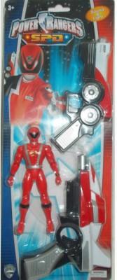 Turban Toys Power Ranger Action Figure with Gun