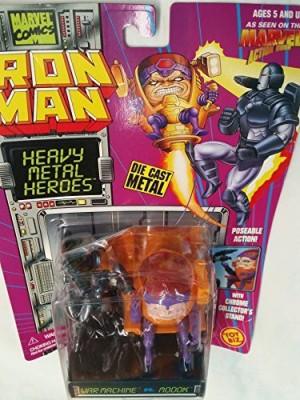 Iron Man Heavy Metal Heroes War Machine Vs Moook Die Cast Metal