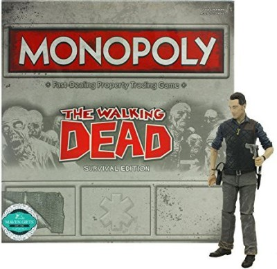 Maven Gifts Monopoly The Walking Dead Survival Edition With Bonus