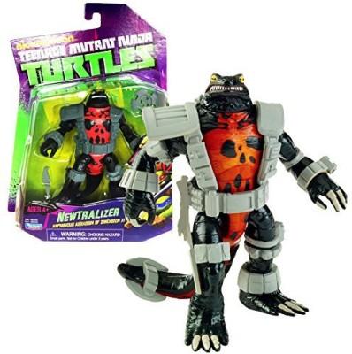 Teenage Mutant Ninja Turtles Playmates Year 2014 Nickelodeon 5 Inch Tall Amphibious