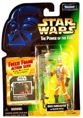 Star Wars Power Of The Force Freeze Frame Biggs Darklighter