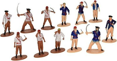 US Toy Pirate(Set Of 12)Assorted