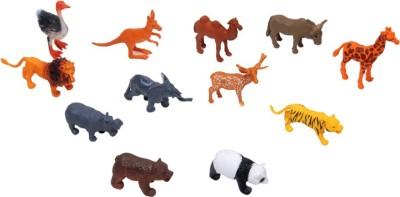 Montez Wild Animal Set Of 12