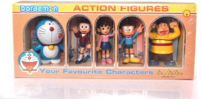 GRVK New Action Figurine Family Pack 5 In 1