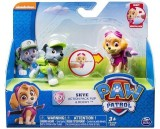 Paw Patrol Skye Action Pack Pup & Rocky ...