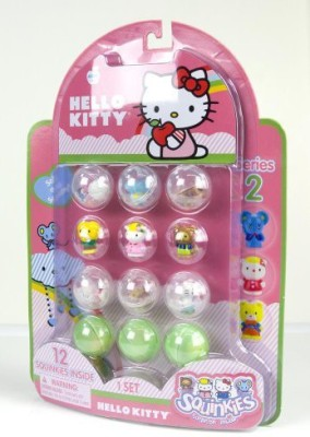 Blip Squinkies Hello Kitty Bubble Pack 2