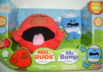 Mr Men Little Miss Fisherprice Mr Men Mr Rude And Mr Bump Gift Set