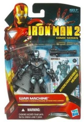 Iron Man 2 Comic 4 Inch 38 War Machine Cyborg With Interchangeable