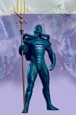 DC COMICS Alex Ross Justice League 7 Aquaman In Atlantean Armor