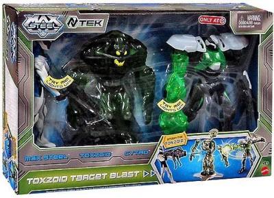 Max Steel 6 Inch 3Pack Toxzoid Target Blast [Toxzoid & Cytro]