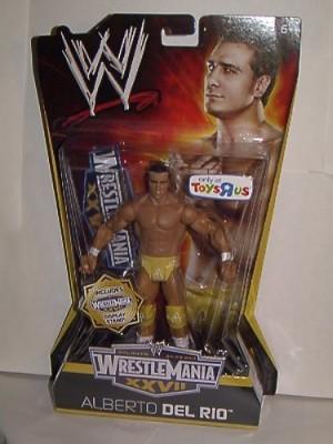WWE Mattel Wrestling Exclusive Wrestle Mania Xxvii Alberto Del