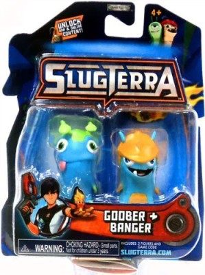 SLUGTERRA Mini 2Pack Goober & Banger [Includes Code For