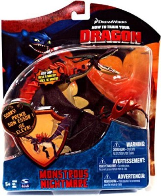 Dreamworks How To Train Your Dragon Movie Series 3 Deluxe 7 Inch Red