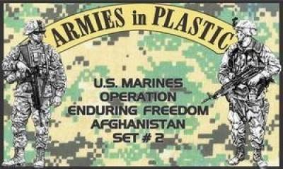 Armies in Plastic Us Marines Operation Enduring Freedom Afghanistan Set 2