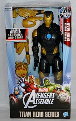 Marvel Avengers Titan Hero Series Bunker Buster Iron Man