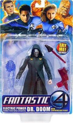 Fantastic 4 Electric Power Dr Doom With Lightning Bolt Blast
