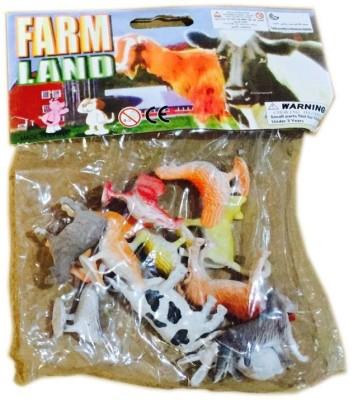 Rahul Toys Small Farm Animals