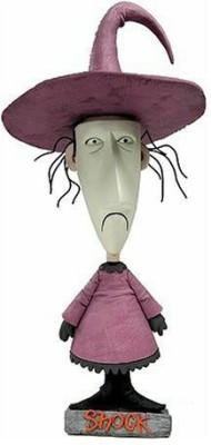 NECA Nightmare Before Christmas Shock Head Knocker Bobble Head