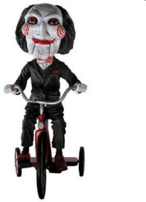 NECA Saw The Movie Puppet On Tricycle 8in Extreme Bobble Head Knocker