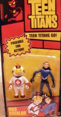 Teen Titans S Mas & Aqualad
