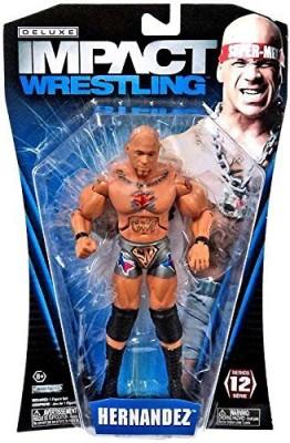 Jakks Pacific Tna Wrestling Deluxe Impact Series 12 Hernandez