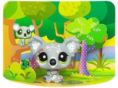 Littlest PetShop Littlest Pet Shop Fanciest Pets Series 1 Koala
