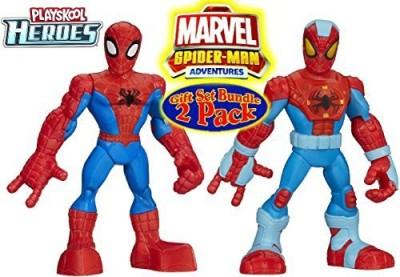 Playskool Heroes Marvel Spiderman Adventures Spidermantwin Pack Gift
