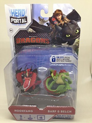 Hero Portal Dragons Booster Pack Hookfang And Barf & Belch