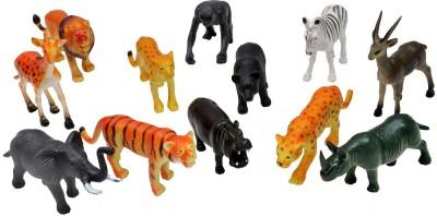 A2B 12 Setwild Animals Plastic Toys For Kids