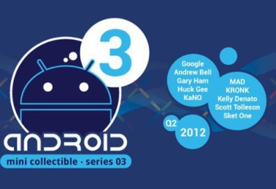 Google Android Mini Collectible Sseries 3 (1 Blind Box) Assorted
