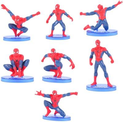 Spiderman 7 Pcs Essential Collection Set