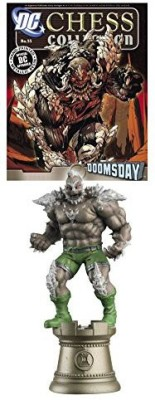 Eaglemoss Publications Dc Superhero Chess & Magazine 55 Doomsday Black Rook