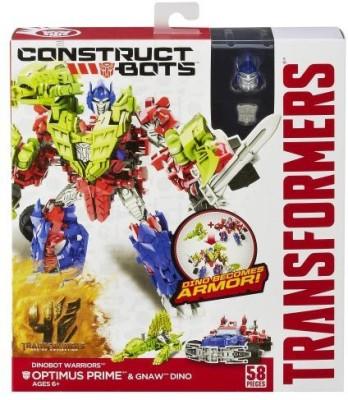 Transformers Age Of Extinction Constructbots Dinobot Warriors Optimus
