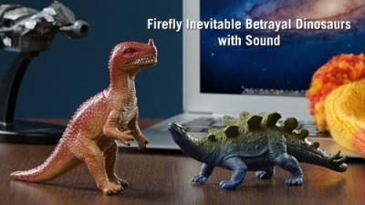 ThinkGeek Firefly Inevitable Betrayal Dinosaurs With Sound