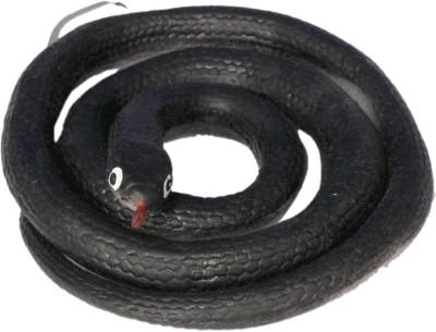 Homeshopeez Rubber Snake-BLK