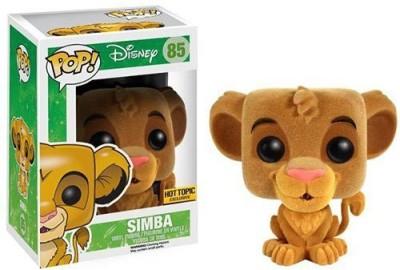 Pop Vinyl Funko Pop Disney Lion King Flocked Simba Hot Topic Exclusive