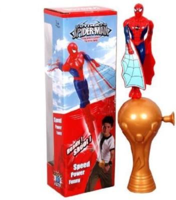 Toyoz Ultimate flying spiderman super shoot series