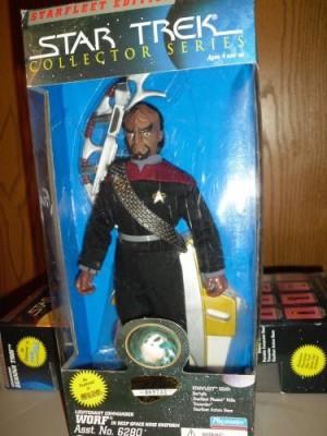 Star Trek Starfleet Edition Worf In Deep Space Nine Uniform