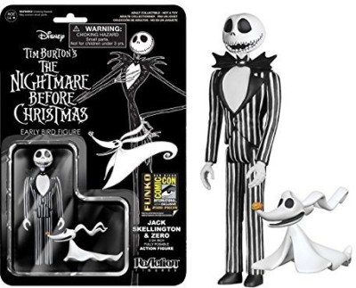 Reaction Figures 2014 Sdcc Exclusive Nightmare Before Christmas Re Jack