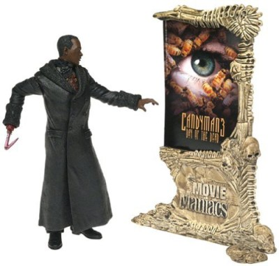 Movie Maniacs McFarlane Toys Series 4 Action Figure Candyman 3 Day of the Dead Candyman