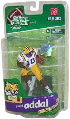 Mcfarlane Toys Sportspicks: NCAA Football - Series 3 Joseph Addai - LSU Action Figure