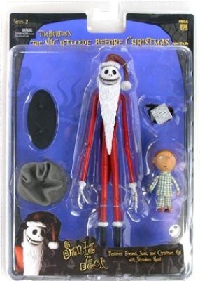 Nightmare Before Christmas NECA Tim Burtons The Series 2 Action Figure Santa Jack