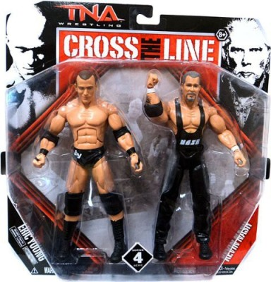 TNA Wrestling Cross The Line Series 4 2Pack Eric Young Kevin