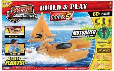 Real Construction Playset Boat Style