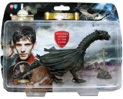 The Adnetures of merlin The Adventures Of Merlin Dragon Figurine