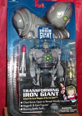 The Iron Giant Transforming Iron Giant