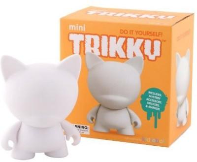 Kidrobot Mini Trikky Diy Vinyl Art Figure