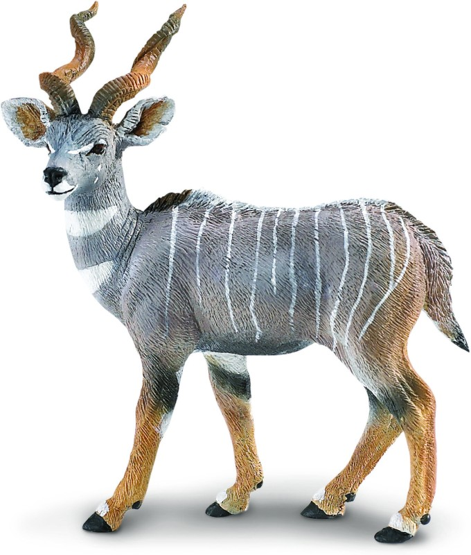 Safari Ltd WS Wildlife Lesser Kudu(Multicolor)