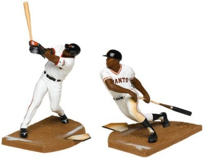 McFarlane Toys Sportspicks Willie Mays And Barry Bonds